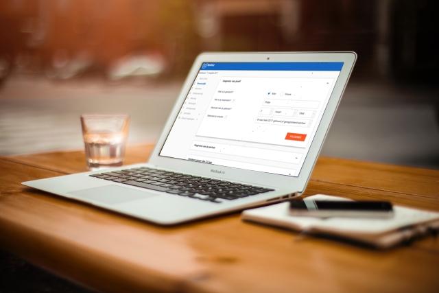 Belastingaangifte online